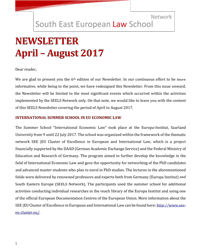 SEELS Newsletter April August 2017 1